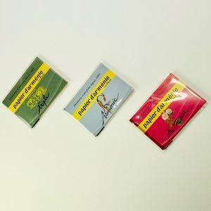 3 pack set Papier D' Armenie Burning Papers